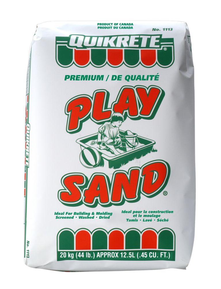 Sable de qualité pour aires de jeux 20kg