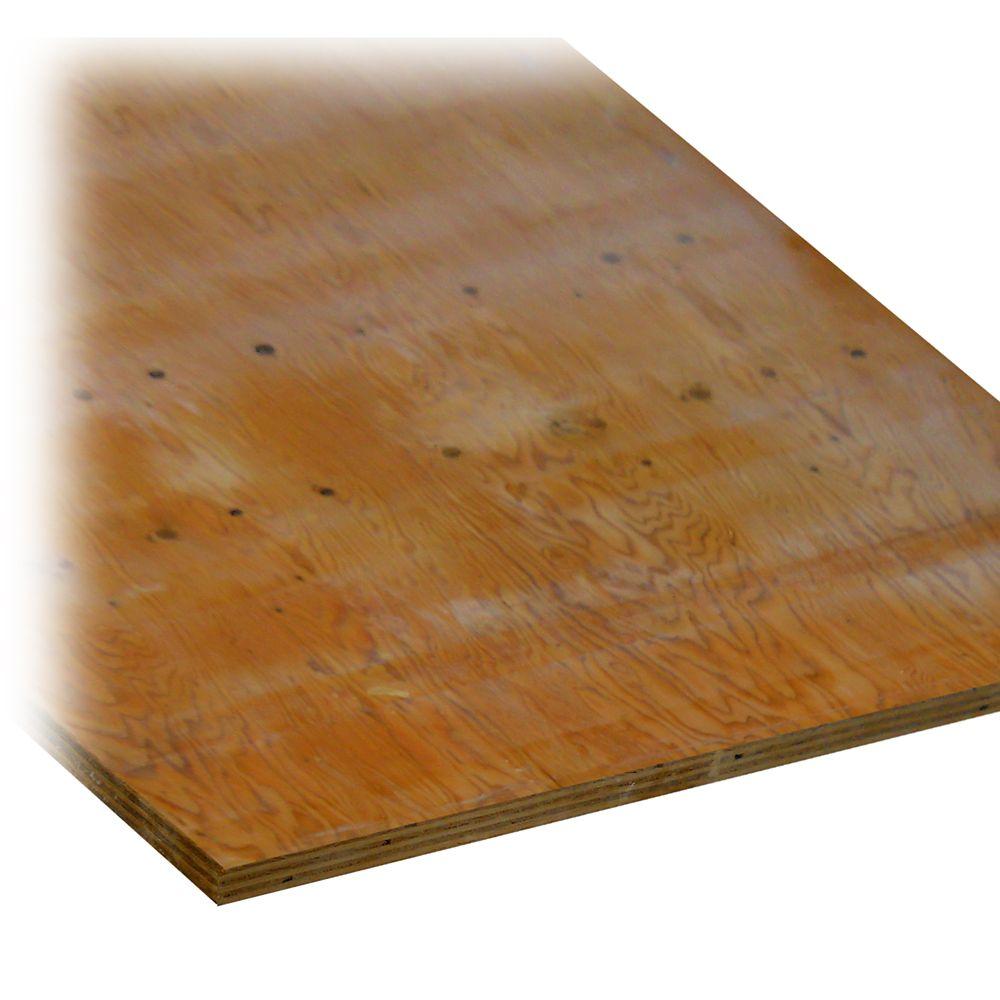 3/4 Inch Fire Retardant Treated Plywood