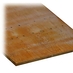 3/4 Inch Fire Retardant Treated Plywood
