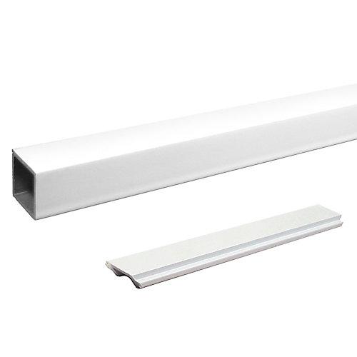 RailBlazers Single Standard Stair Picket - White