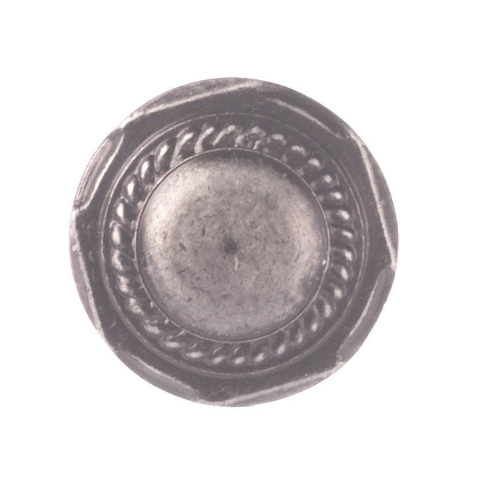 Transitional Metal Knob - Wrought Iron - 32 mm Dia.