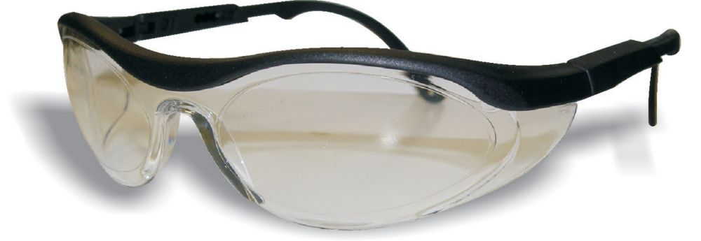 Wrap Around Safety Glass Clear Lens