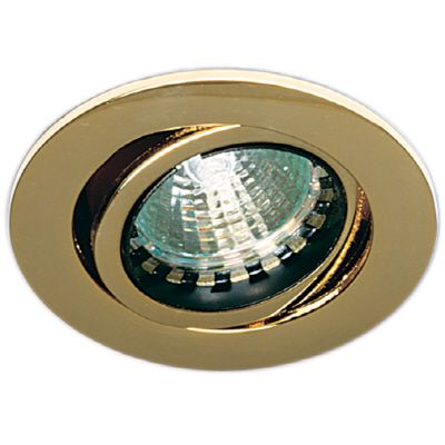 Eurofase Mini Pot Gimbal Downlight Low Voltage, Gold
