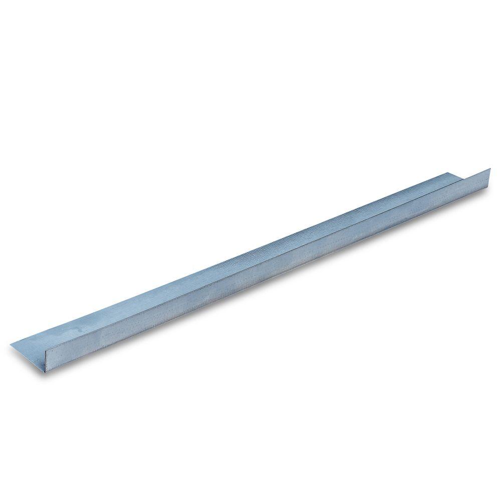 D700  1 Inch x 2 Inch 90° Metal Angle Framing Trim 25 Gauge (.018 Mil)