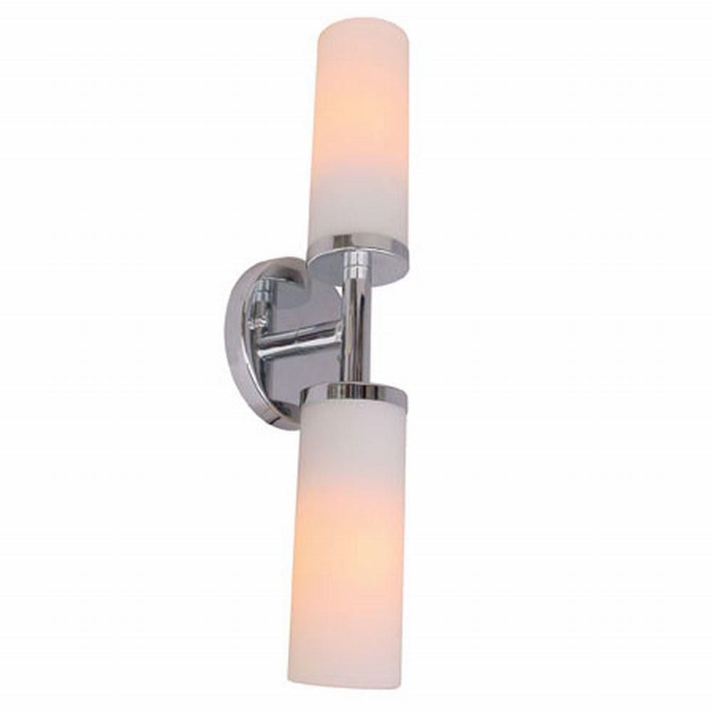 Sydney Collection 2 Light Chrome Wall Sconce