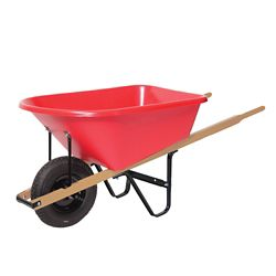 Garant Wheelbarrow 6 cu. ft. Poly Tray