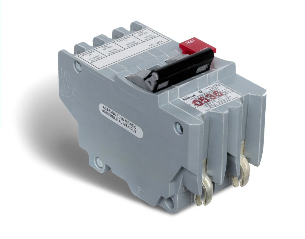Schneider Electric Double Pole 30 Amp Stab-lok (NC) Plug-On Circuit ...