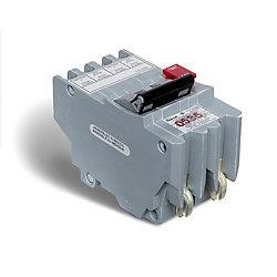 Schneider Electric Double Pole 40 Amp Stab-lok Plug-On GFI Circuit Breaker