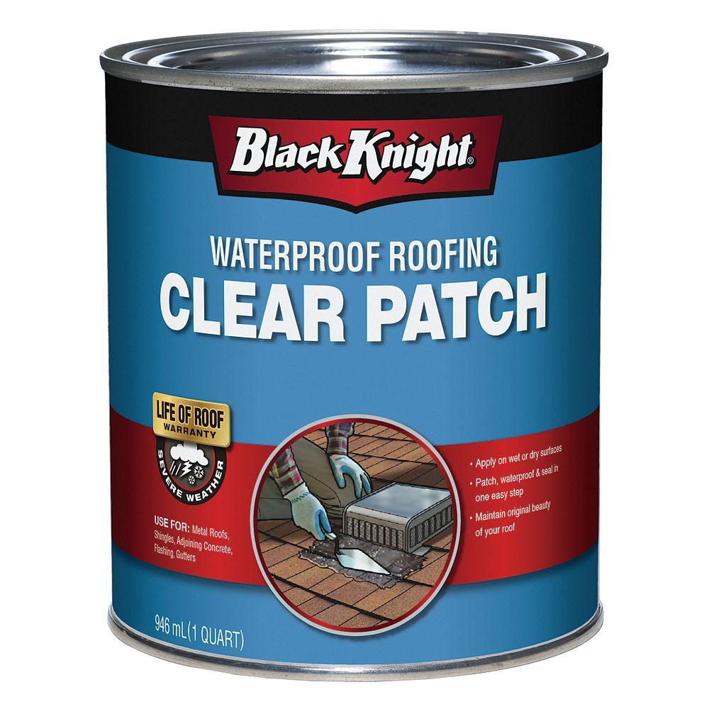 Black Knight Enduit Transparent Impermeable Pour La Reparation Des Toitures Home Depot Canada