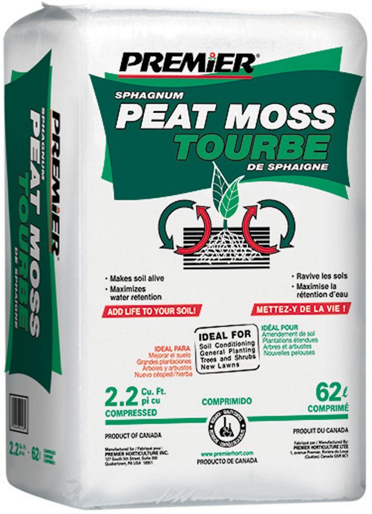 Berger Peat Moss - 2.2 Cubic Feet