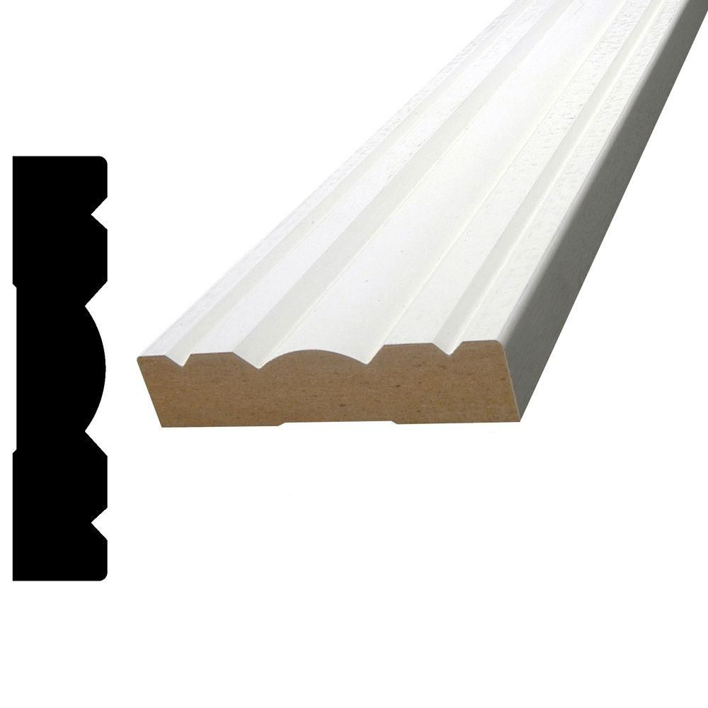 Primed Fibreboard Colonial Casing 11/16 In. x 3-1/8 In. (Price per linear foot)