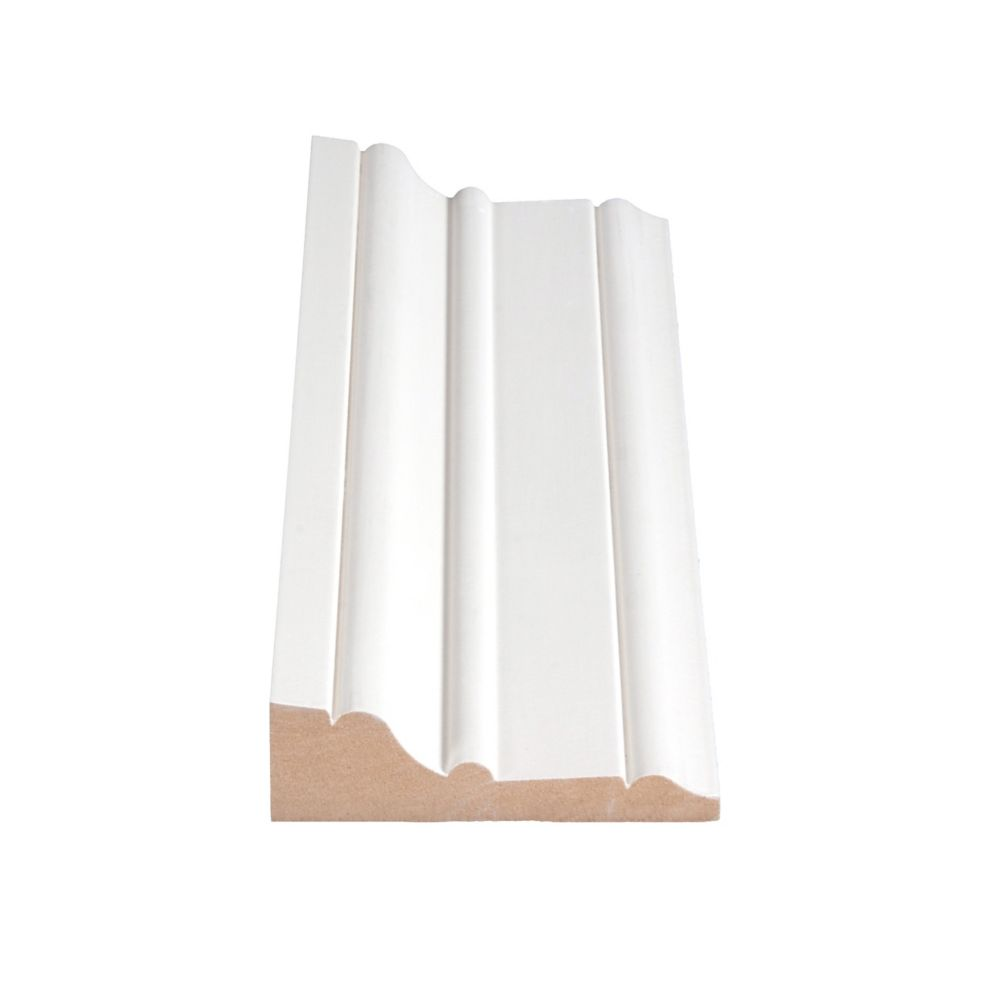 Primed Fibreboard Casing 1-1/16 In. x 3-7/16 In. (Price per linear foot)