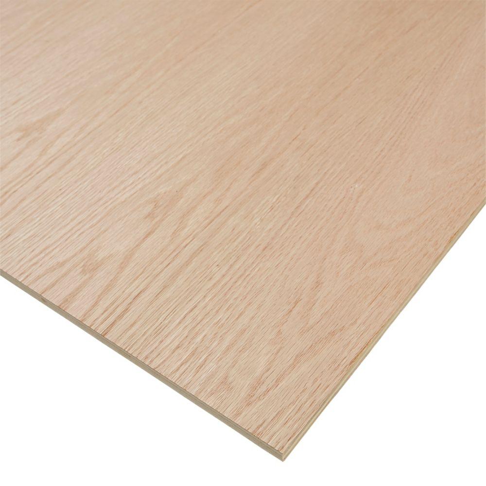 PureBond 1/2-inch. x 4 Feet. x 8 Feet. Purebond Red Oak