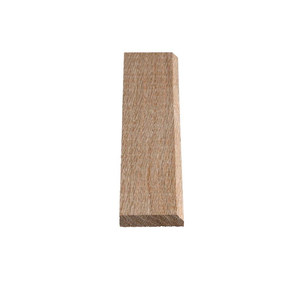 Oak Counter Edge 3/8 In. x 1-3/4 In.