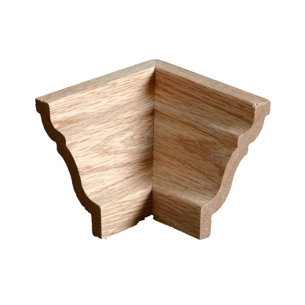 Oak Inside Crown Corner - For Crown #00051
