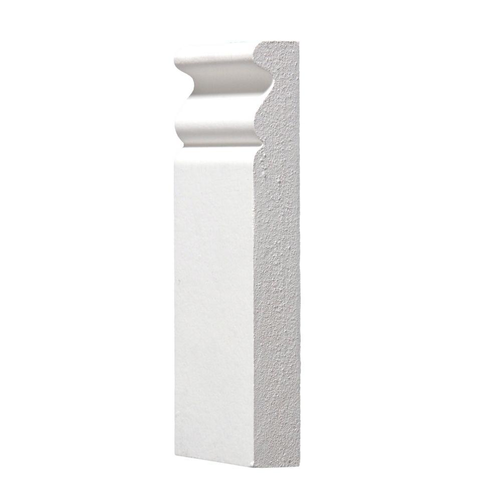 Socle de plinthe apprêté - 3/4 x 3 x 6 pi