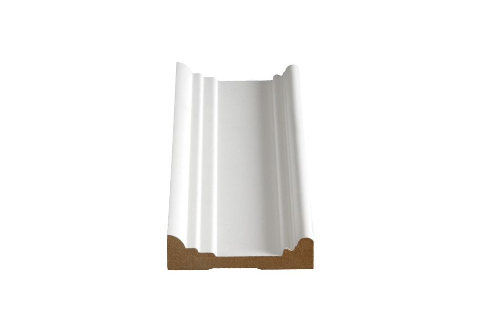 Alexandria Moulding Primed Fibreboard Architrave Casing 1 Inches x 3-5/8 Inches x 8 Feet