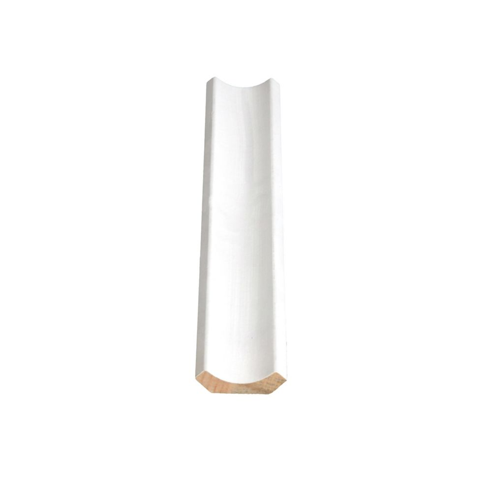 Primed Finger Jointed Pine Cove 3/8 In. x 1-3/8 In. x 8 Ft.