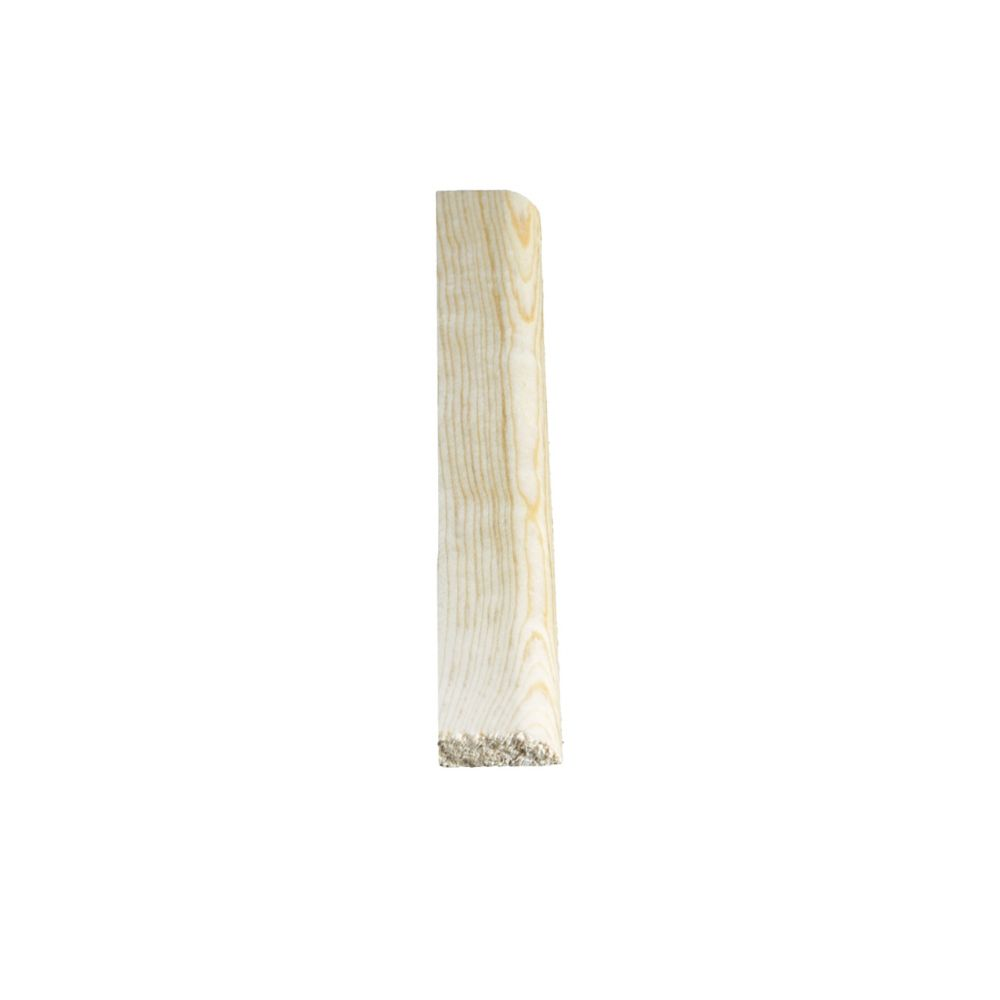 Heurtoir de porte en pin clair massif  - 5/16 x 1 1/16