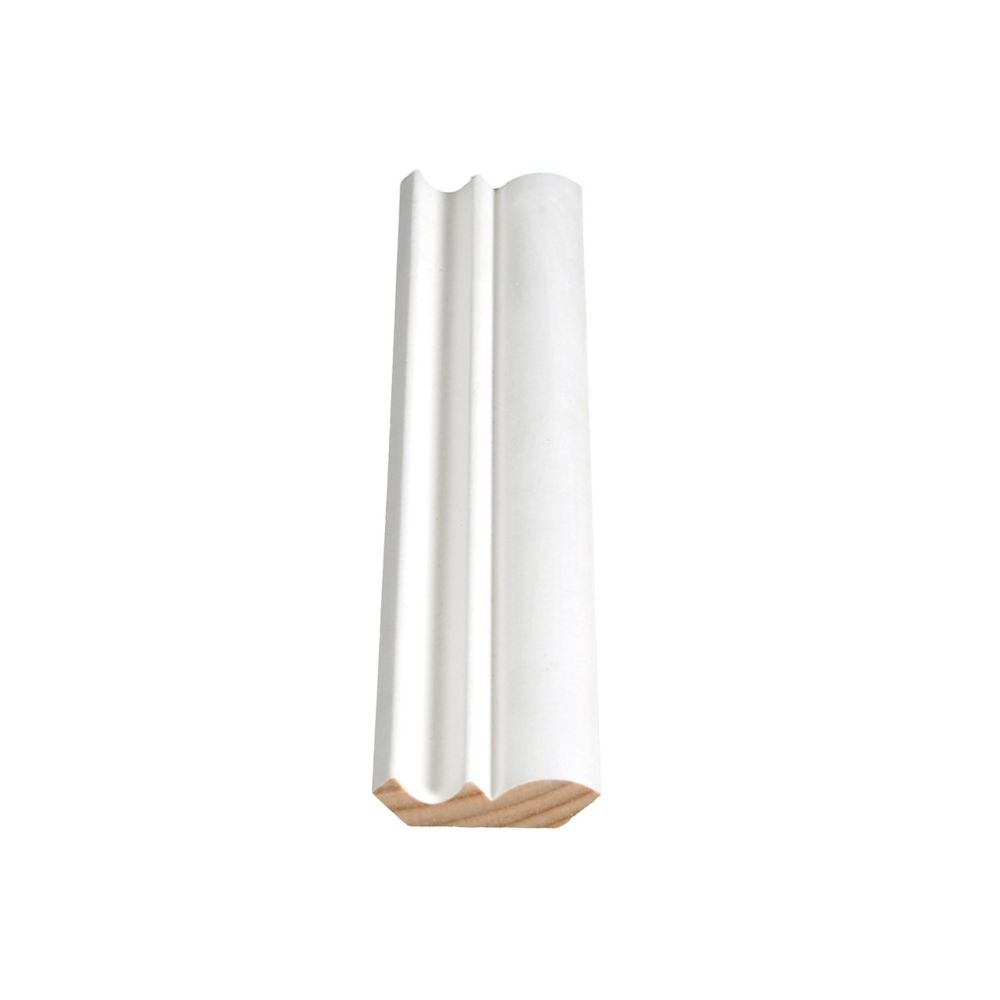 Primed Finger Jointed Pine Crown 7/16 In. x 1-5/8 In. (Price per linear foot)