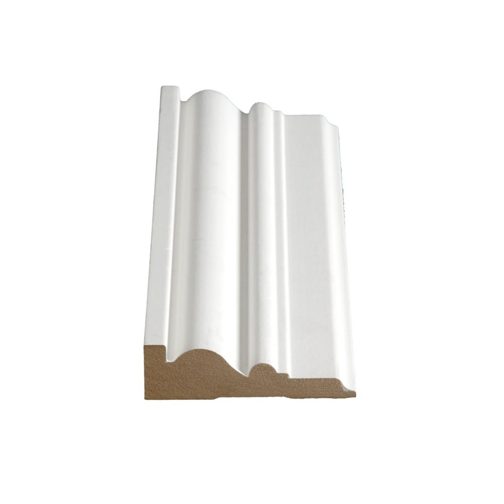 Primed Fibreboard Casing 1 In. x 3-1/2 In. (Price per linear foot)