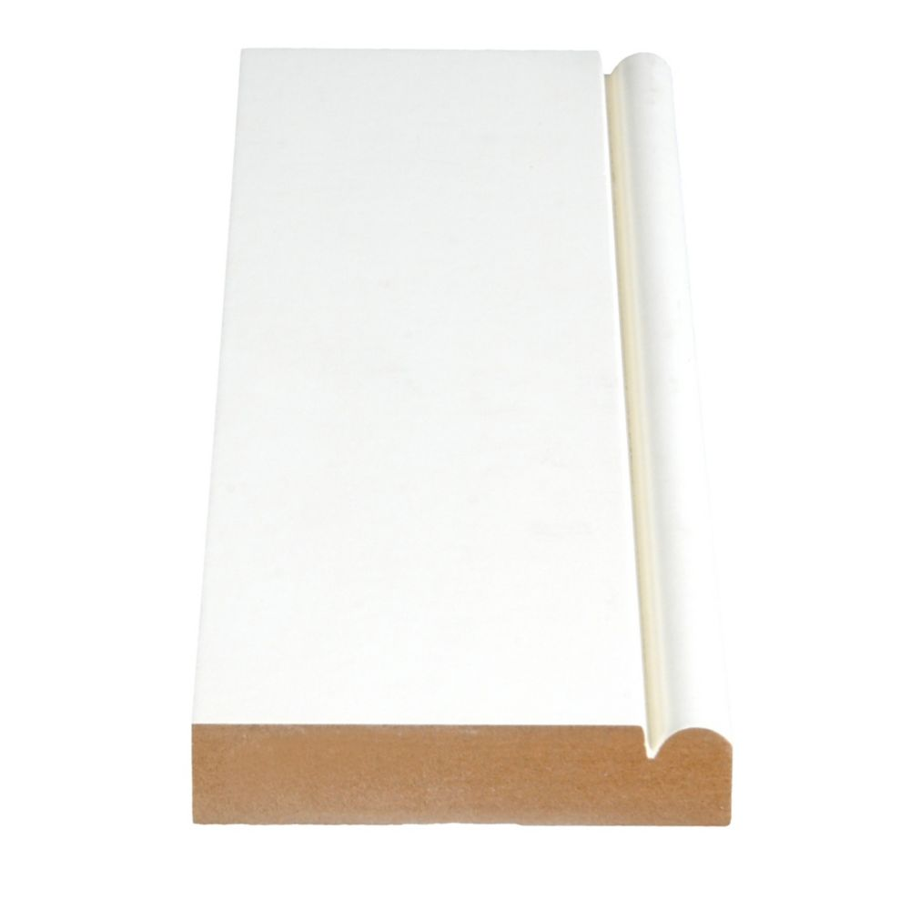 Primed Fibreboard Casing 3/4 In. x 3-1/2 In. (Price per linear foot)