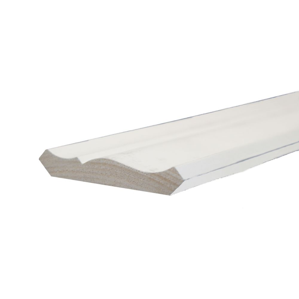 Primed Finger Jointed Pine Crown 9/16 In. x 3-1/8 In. (Price per linear foot)