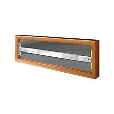 102 A 29-inch to 42-inch W Hinged Window Bar