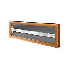 101 A 29-inch to 42-inch W Fixed Window Bar
