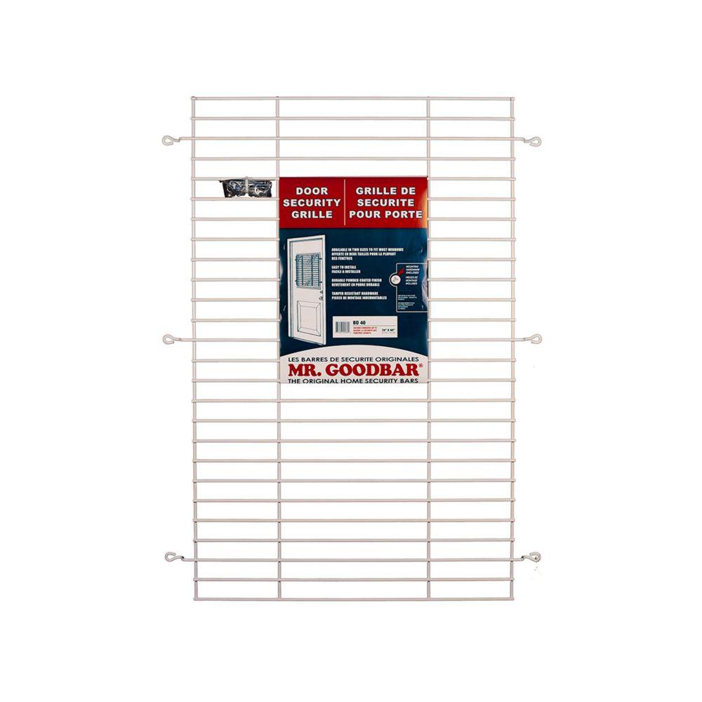 Mr. Goodbar 40-inch Door Security Grille