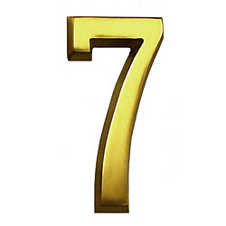 SoftCurve 4 In. Brass Number 7