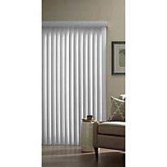 3.5-inch Vertical Blind Kit in White - 78-inch x 84-inch