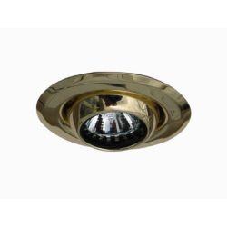 Eurofase Mini luminaires cylindriques à encastrer à globe oculaire, Doré