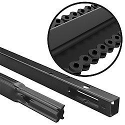 Trousse de rallonge de rail à chaîne d'entraînement pour portes de garage de 2,4 m (8 pi) de hauteur