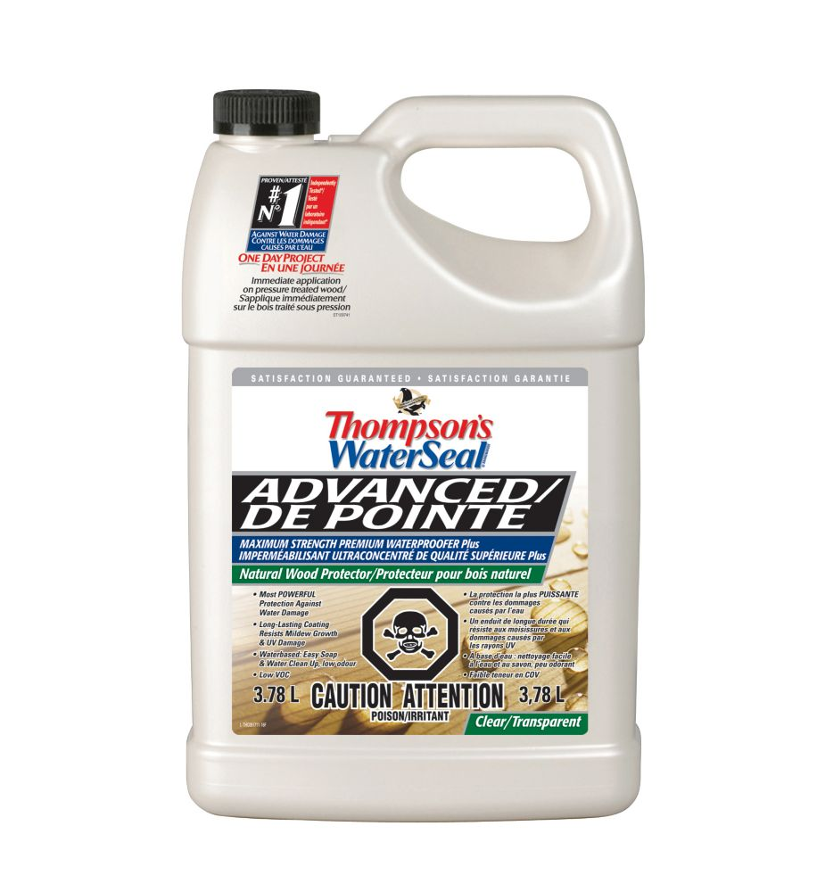 Thompson's Advanced Waterproofer - Natural Wood Protector