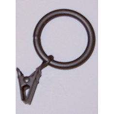 1 In. Ring With Clamp - Color Rustic