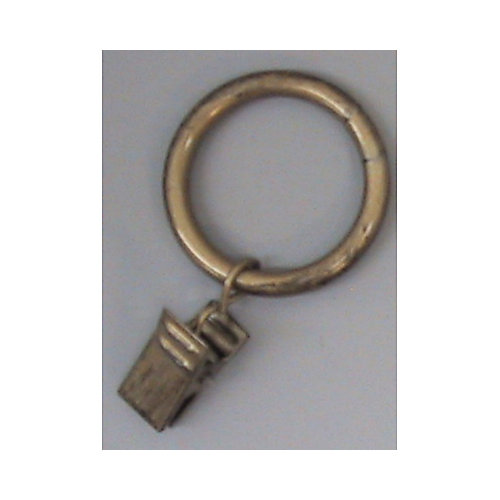 1 In. Ring W/Clamp - Antique Gold
