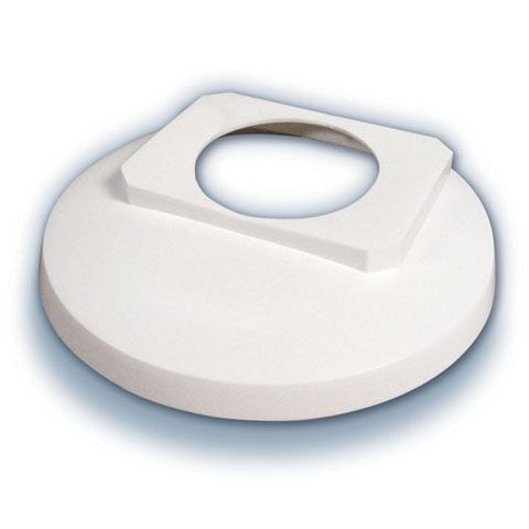 Tile Cover 2 Inch Round - White