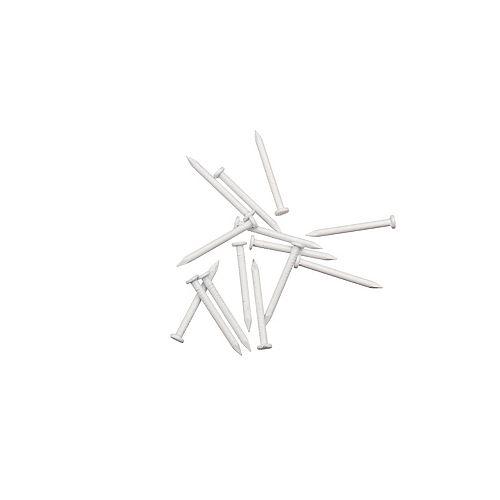 Peak Products Soffit Trim Nails - White - 1/4 Pound