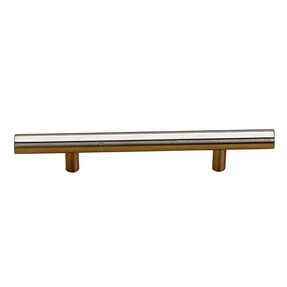 Contemporary Stainless Steel  Pull - 105 mm C. to C.