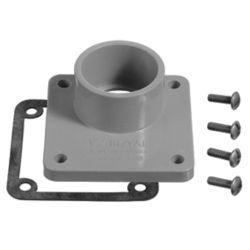 Carlon Schedule 40 PVC Unthreaded Meter Hub  1 1/4  In