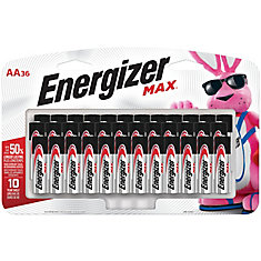 Max AA Batteries (36-Pack)