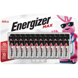 Energizer Max Max AA Batteries (36-Pack)
