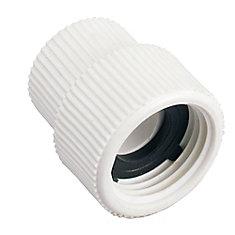 1/2 inch FNPT X 3/4 inch FHT PVC Swivel