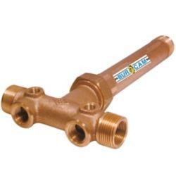 Bur-Cam poT  po De Reservoir Long + Union  En Laiton 1  poMpt X 3/4  po Fpt