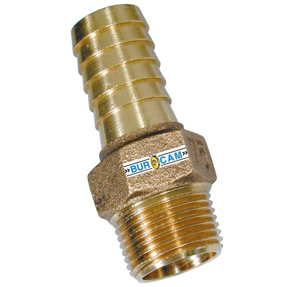 3/4 Npt X 3/4 B Bronze Adapter 750870 Canada Discount
