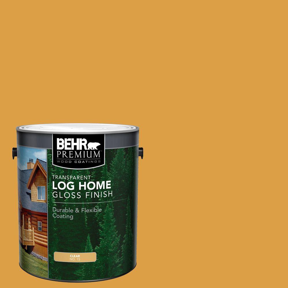 Fini lustré pour Maisons en bois rond - Clair, 3,79 L