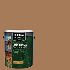 BEHR Log Home Gloss Finish - Cedar, 3.79L