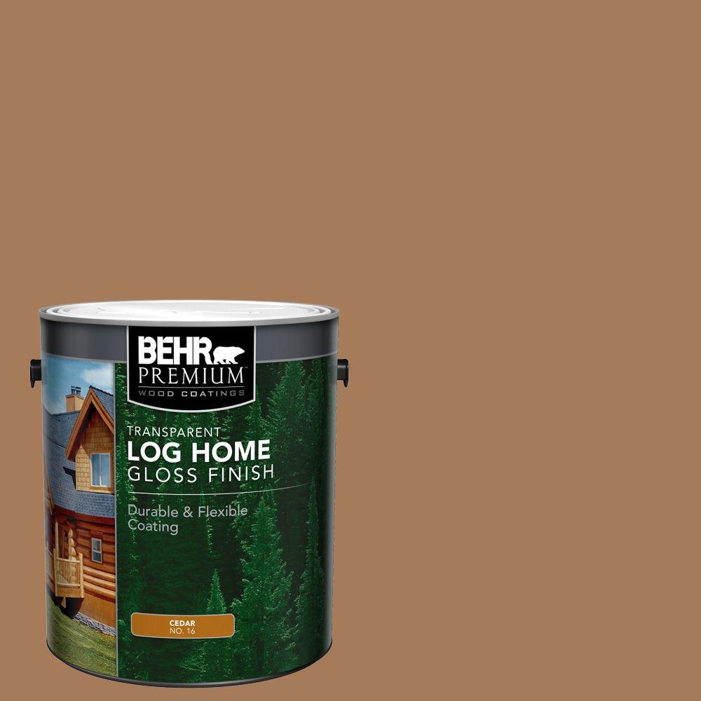 BEHR Log Home Gloss Finish - Cedar, 3.79L