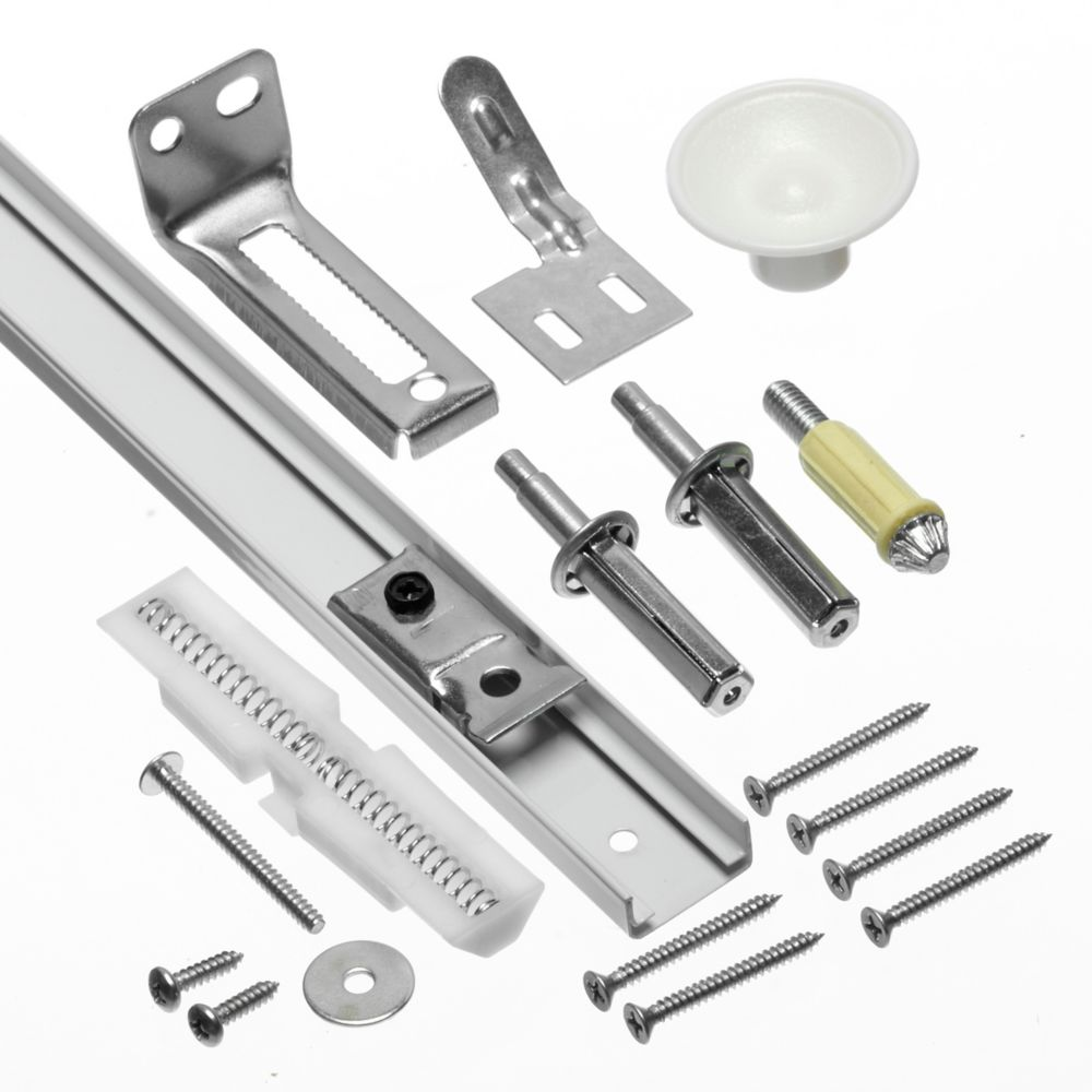 610 mm (24-inch) Bifold Track and Hardware Kit